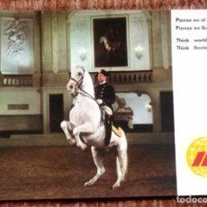 Postales: IBERIA - ESCUELA ESPAÑOLA DE EQUITACION EN VIENA. Lote 140368838