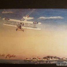 Postales: POSTAL AVIACION AVION CROMOLITOGRAFICA. Lote 140591854