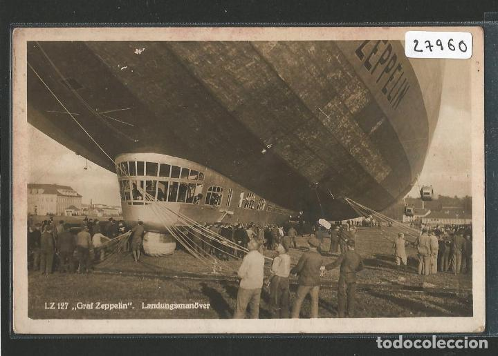 DIRIGIBLE - GRAF ZEPPELIN - P27960 (Postales - Postales Temáticas - Aeroplanos, Zeppelines y Globos)