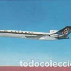 Postales: POSTAL DEL AVIÓN DE OLYMPIC AIRWAYS - BOEING 727 - 200. Lote 142990794