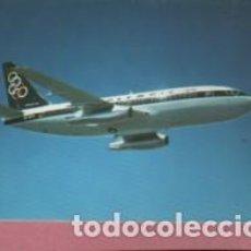 Postales: POSTAL DEL AVIÓN DE OLYMPIC AIRWAYS - BOEING 737 - 200. Lote 142990906