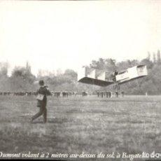 Postales: REPRINT – MR. SANTOS DUMONT ELEVÁNDOSE 2 MTS – BAGATELLE - 1906. Lote 143451738