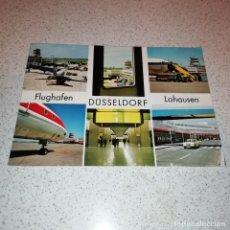 Postales: AEROPUERTO DE DUSSELDORF. Lote 143539018