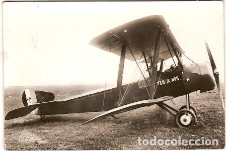 FRANCIA & BIPLANO DEL BOMBARDEO DE ESSEN, 1A GUERRA, TRANSFUSINE, MONTREUIL, MONTARGIS 1963 (99) (Postales - Postales Temáticas - Aeroplanos, Zeppelines y Globos)