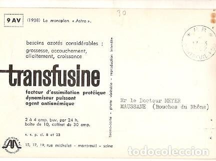 Postales: Francia & Circulado, Monoplan Astra 1908, Montreuil, Maussane 1962 (6681) - Foto 2 - 147349150