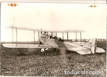 FRANCIA & BOMBARDEO BIPLANO INGLÉS, DE HAVILLAND, MONTREUIL, MAUSSANE 1964 (6683) (Postales - Postales Temáticas - Aeroplanos, Zeppelines y Globos)