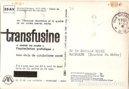 Postales: Francia & Bombardeo Biplano Inglés, De Havilland, Montreuil, Maussane 1964 (6683) - Foto 2 - 147351206