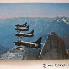 Postales: POSTAL AVIACION : AVIONES FUERZA AEREA DE ITALIA , CINQUANTENARIO 2 º STORMO 1925 - 1975. Lote 147706642