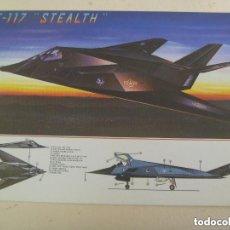 Postales: POSTAL DEL AVION F - 117 STEALTH.. Lote 151877378