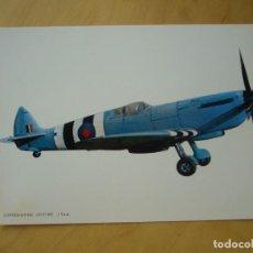 Postales: SUPERMARINE SPITFIRE (1944). Lote 152280938