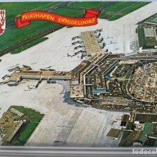 Postales: AVIACION AVION AEROPUERTO FLUGHAFEN DUSSELDORF AIRPORT. Lote 152437418