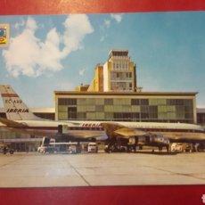 Postales: IBERIA SVOON BARAJAS DOUGLAS DC 8 JET. Lote 156528146