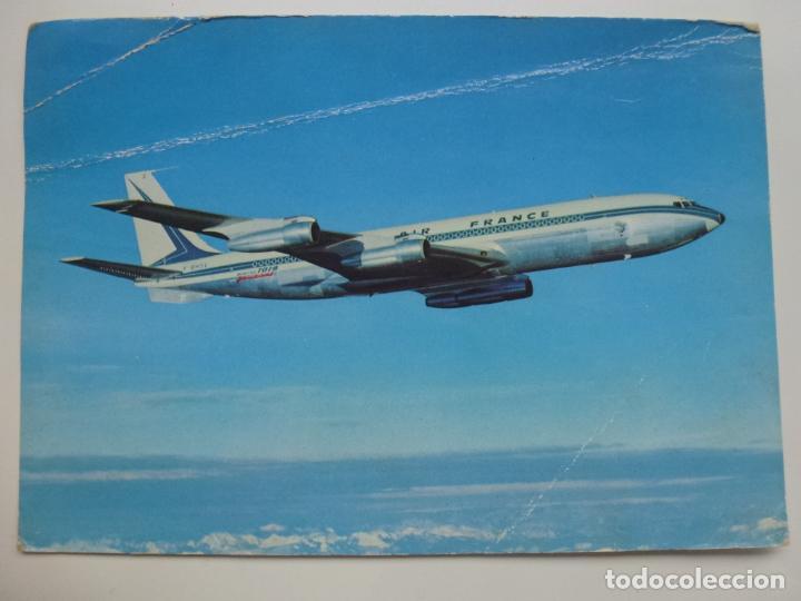 POSTAL. BOEING 707 B INTERCONTINENTAL. NO ESCRITA. (Postales - Postales Temáticas - Aeroplanos, Zeppelines y Globos)