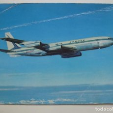 Postales: POSTAL. BOEING 707 B INTERCONTINENTAL. NO ESCRITA.. Lote 158146822