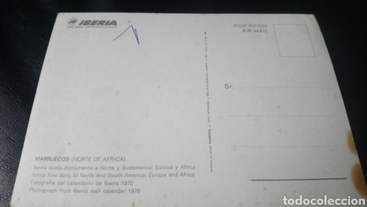 Postales: Postal de Iberia. Marruecos 1970 - Foto 2 - 160392152