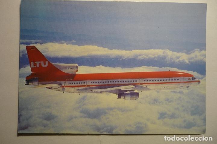 POSTAL AVION TRISTAR L-1011-1 (Postales - Postales Temáticas - Aeroplanos, Zeppelines y Globos)