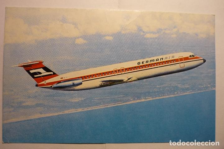 Postales: postal avion german air - Foto 1 - 160627054