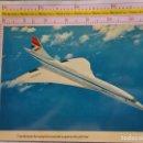 Postales: POSTAL DE AVIONES AEROLÍNEAS. BRITISH AIRWAYS. AVIÓN CONCORDE. 582. Lote 161778810
