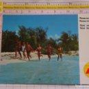 Postales: POSTAL DE AVIONES AEROLÍNEAS. AÑO 1969. IBERIA VUELA A SANTO DOMINGO REPÚBLICA DOMINICANA. 586. Lote 161779054