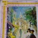 Postales: POSTAL DE AVIONES AEROLÍNEAS. SCANDINAVIAN AIRLINES SYSTEM SAS. PARIS FRANCIA. 589. Lote 161779250