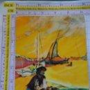 Postales: POSTAL DE AVIONES AEROLÍNEAS. SCANDINAVIAN AIRLINES SYSTEM SAS. PORTUGAL PESCADOR. 590. Lote 161779282