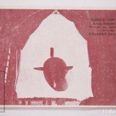 Postales: ANTIGUA POSTAL DIRIGIBLE S1 / ZEPPELIN - MOTORES ANZANI. ACEITE AVIÓN, EDUARDO ZARAGOZA - SIN CIRC.. Lote 164680466