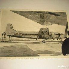 Cartes Postales: SABENA : DOUGLAS DC-4'S AT BRUSSELS AIRPORT, SIN CIRCULAR.. Lote 165480826