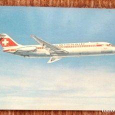 Postales: SWISSAIR - DC 9 - 32. Lote 166233502
