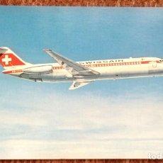 Postales: SWISSAIR - DC 9 - 32. Lote 166233574