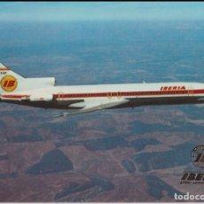 Postales: IBERIA - BOEING 727/256 - ESCUDO DE ORO - S/C. Lote 194391911