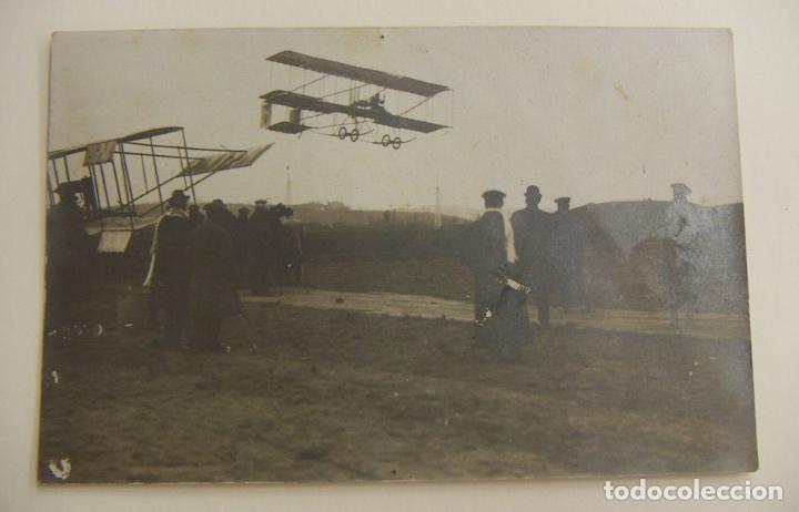 PIONEROS DE LA AVIACION POSTAL CON BIPLANOS ORIGINAL (Postales - Postales Temáticas - Aeroplanos, Zeppelines y Globos)