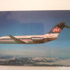 Postales: JAT YUGOSLAV AIRLINES DC9. Lote 166779530