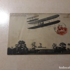 Postales: AEROPLANO AVIADOR WRIGHT. Lote 168420300