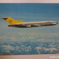 Postales: POSTAL. CONDOR. EUROPA JET. BOEING 727-230. F.W. ROHDEN. NO ESCRITA.. Lote 169565696