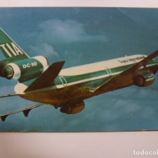 Postales: POSTAL. SUNDOWN IN THE SOUTH PACIFIC. TRANS INTERNATIONAL AIRLINES. MIKE ROBERTS. NO ESCRITA. . Lote 169566404