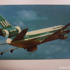 Cartes Postales: POSTAL. SUNDOWN IN THE SOUTH PACIFIC. TRANS INTERNATIONAL AIRLINES. MIKE ROBERTS. NO ESCRITA. . Lote 169566416