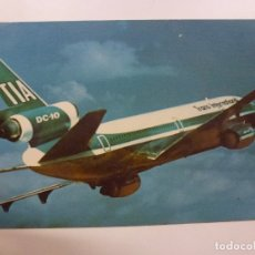 Postales: POSTAL. SUNDOWN IN THE SOUTH PACIFIC. TRANS INTERNATIONAL AIRLINES. MIKE ROBERTS. NO ESCRITA. . Lote 169566452
