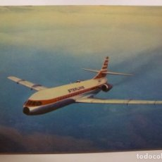 Postales: POSTAL. STERLING AIRWAYS. CARAVELLE SUPER B. NO ESCRITA. . Lote 169566612