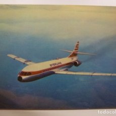 Postales: POSTAL. STERLING AIRWAYS. CARAVELLE SUPER B. NO ESCRITA. . Lote 169566900