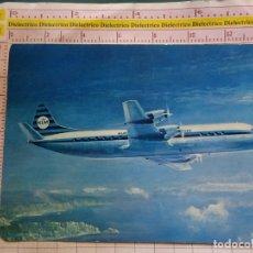 Postales: POSTAL DE AVIONES AEROLÍNEAS. AVIÓN KLM LOCKHEED PROP JET ELECTRA II. 1761. Lote 169799588