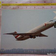 Postales: POSTAL DE AVIONES AEROLÍNEAS. AVIÓN MCDONNELL DOUGLAS DC9/32 DE AUSTRIAN AIRLINES. AUSTRIA. 2272. Lote 170225452