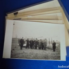 Postales: (PS-61404)LOTE DE 6 POSTALES FOTOGRAFICAS VIAJE EN AEROPLANO. Lote 171243007