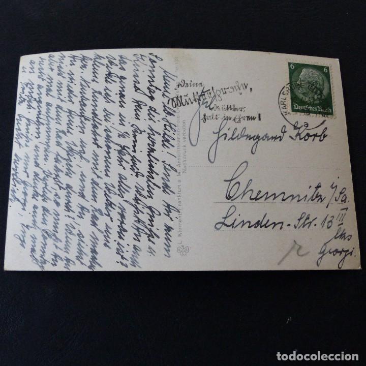 Postales: POSTAL DE AVIACIÓN.- FRIEDRICHSHAFEN ALEMANIA .- GRAF ZEPPELIN 1937 - Foto 2 - 172178170