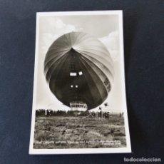 Postales: POSTAL DE AVIACIÓN.- FRIEDRICHSHAFEN ALEMANIA .- GRAF ZEPPELIN 1937. Lote 172178500