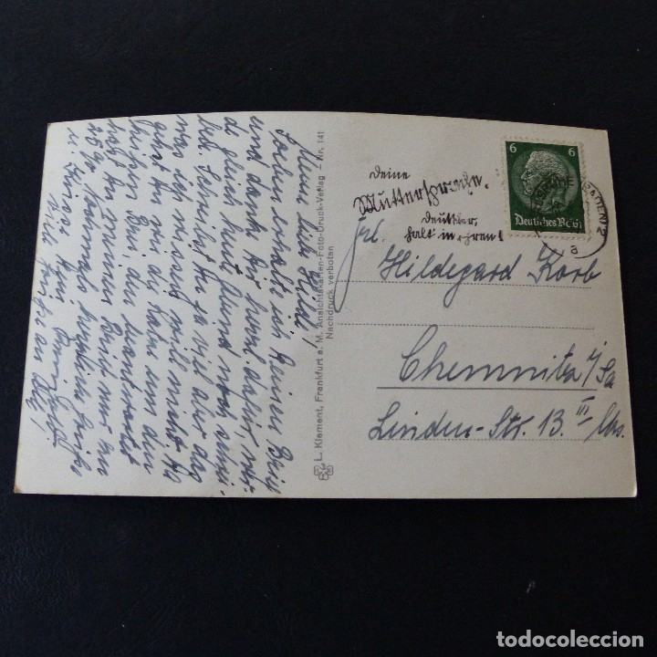 Postales: POSTAL DE AVIACIÓN.- FRIEDRICHSHAFEN ALEMANIA .- GRAF ZEPPELIN 1937 - Foto 2 - 172178500