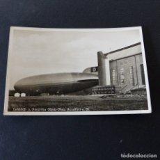 Postales: POSTAL DE AVIACIÓN.- FRIEDRICHSHAFEN ALEMANIA .- GRAF ZEPPELIN 1937. Lote 172178630