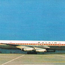 Postales: POSTAL AVIACION DOUGLAS DC 8 DE BALAIR. Lote 172412612