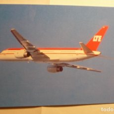 Postales: POSTAL AVION BOEING B 757-200 CIRCULADA. Lote 172661732