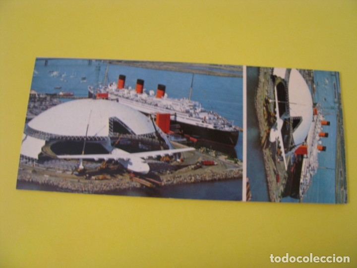 Postales: BLOCK DE 8 POSTALES DE SPRUCE GOOSE. LONG BEACH. HOWARD HUGH. FLYING BOAT. - Foto 2 - 173512038