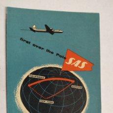 Postales: SAS-SCANDINIAVAN AIRLINES SYSTEM-POSTAL DE AVION-VER FOTOS-(61.503). Lote 174101459